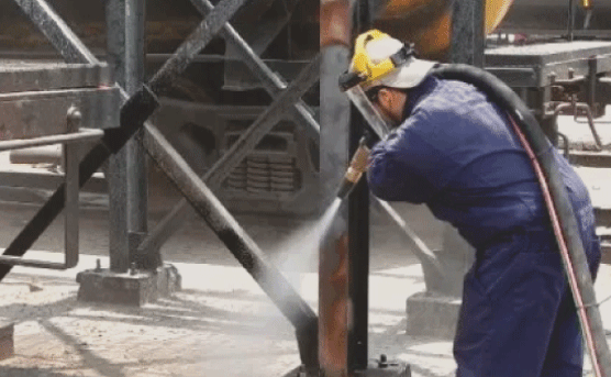 We can also help with your industrial or commercial sandblasting needs. If you need it done, we can do it!